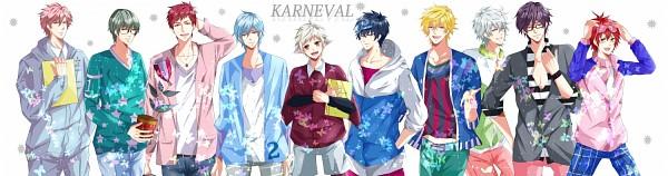 Tags: Anime, Pixiv Id 6464848, Karneval, Jiki, Nai (Karneval), Yogi, Kagiri, Arumerita Karoku, Gareki, Akari (Karneval), Hirato, Tsukitachi, Pixiv