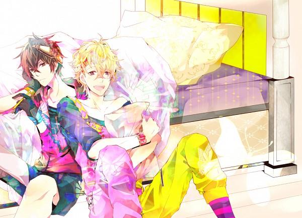 Tags: Anime, Melo (Pixiv1657102), Karneval, Yogi, Gareki, Fanart, Pixiv