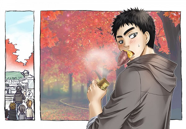 Tags: Anime, Sakco Ffee, Kuroko no Basuke, Kasamatsu Yukio, Fanart, Pixiv, Kaijou High