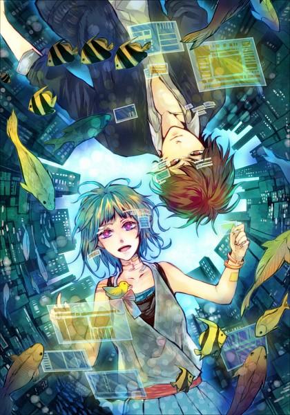 Tags: Anime, Kashiko (Phony), Pixiv, Original, Mobile Wallpaper