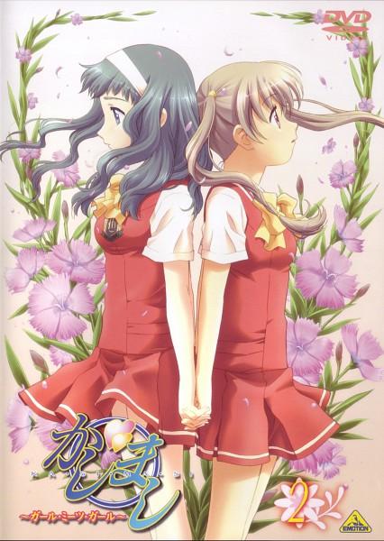 Tags: Anime, Yukimaru Katsura, Kashimashi, Kurusu Tomari, Kamiizumi Yasuna, Girl Meets Girl
