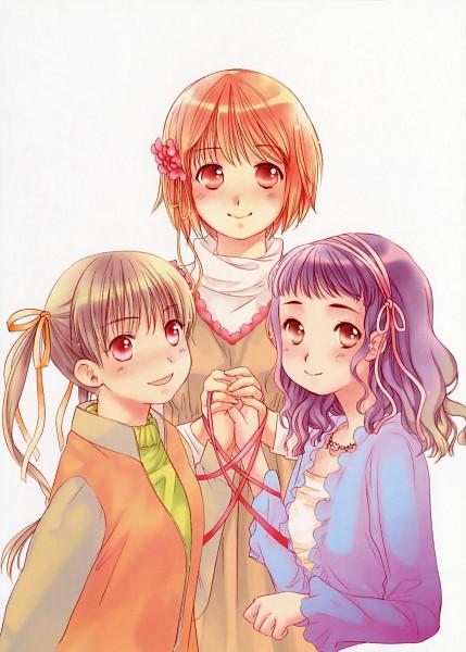 Tags: Anime, Kashimashi, Kurusu Tomari, Kamiizumi Yasuna, Osaragi Hazumu, Girl Meets Girl