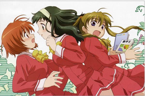 Tags: Anime, Kashimashi, Kurusu Tomari, Kamiizumi Yasuna, Osaragi Hazumu, Screening, Scan, Girl Meets Girl