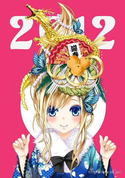 Tags: Anime, Sinkokyu, Boku wa Tomodachi ga Sukunai, Kashiwazaki Sena, Happy 2012