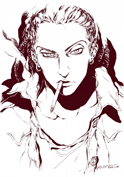 Tags: Anime, TEMARI (AKADERA), MAGI: The Labyrinth of Magic, Kassim, Mobile Wallpaper, Fanart