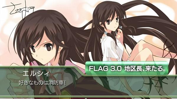 Tags: Anime, Sasaki Mutsumi, Kami nomi zo Shiru Sekai, Kasuga Kusunoki, HD Wallpaper, End Cards, Wallpaper, Kami nomi zo Shiru Sekai - End Cards