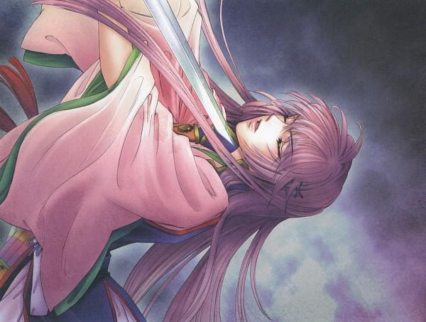 Tags: Anime, Mizuno Tohko, Harukanaru Toki no Naka de 3, Kasuga Nozomi, Suicide, Official Art