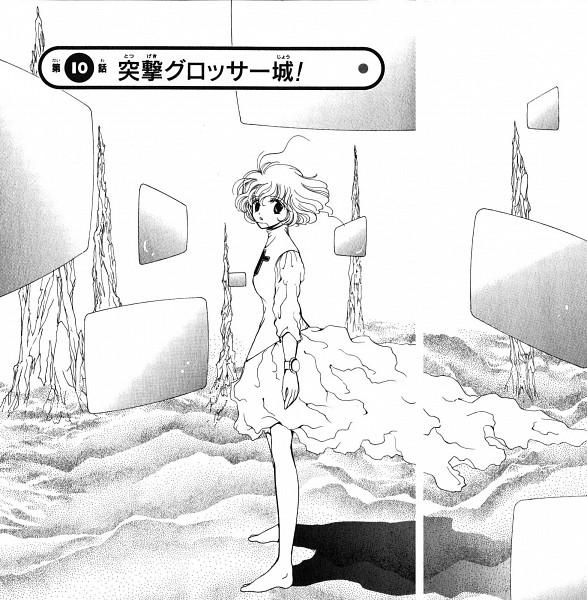 Tags: Anime, Okamoto Keiko, Corrector Yui, Kasuga Yui, Manga Page, Scan, Chapter Cover, Official Art