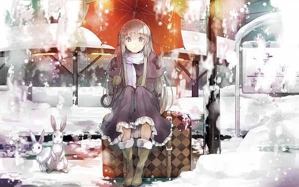 Tags: Anime, Yuugen, Sphere (Studio), CUFFS Sphere CUBE WALLPAPER COLLECTION 2012, Yosuga no Sora, Kasugano Sora, Wallpaper, Sora Kasugano