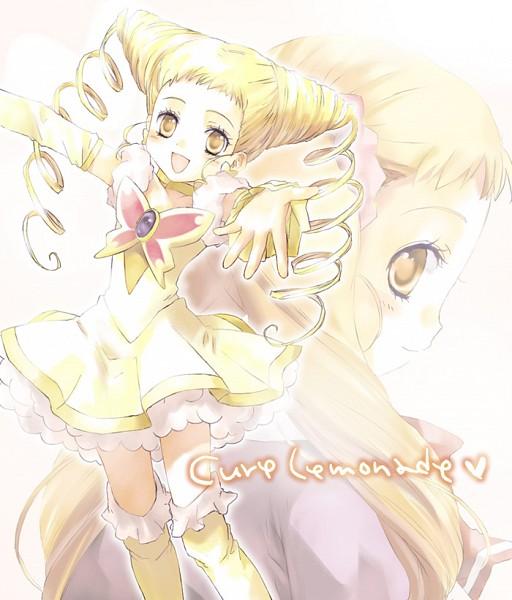 Tags: Anime, Tonamiko, Yes! Precure 5, Kasugano Urara, Cure Lemonade, Fanart From Pixiv, Fanart, Pixiv