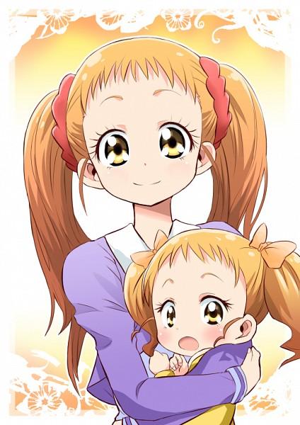 Tags: Anime, Pixiv Id 266243, Yes! Precure 5, Kasugano Urara, Orange Bow, Mobile Wallpaper, Fanart, Fanart From Pixiv, Pixiv