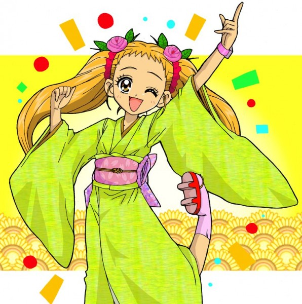 Tags: Anime, Fukushima Masaru, Yes! Precure 5, Kasugano Urara, Wooden Sandals, Fanart