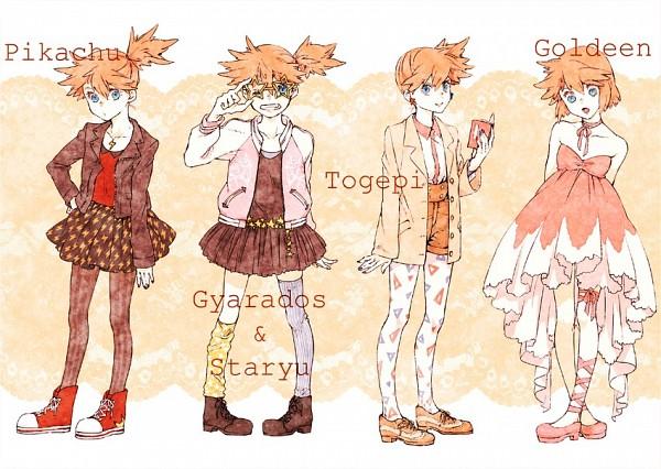 Tags: Anime, kumamimi (Pixiv364467), Pokémon, Kasumi (Pokémon), Yellow Skirt, Ballet Shoes, Layered Clothes, Ballet, Yellow, Orange Footwear, Yellow Legwear, Misty