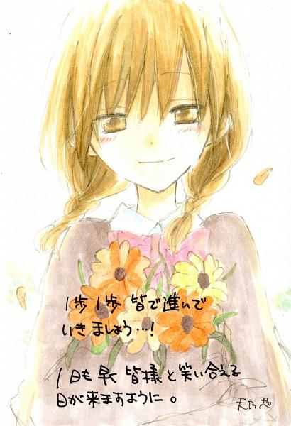Tags: Anime, Amano Shinobu, Katakoi Triangle, Character Request
