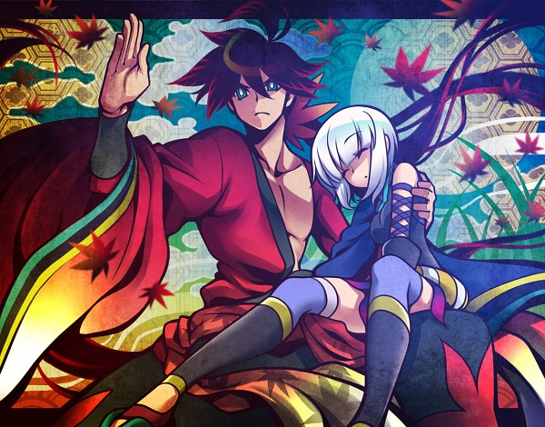 Tags: Anime, Uousa, Katanagatari, Togame, Yasuri Shichika, Sword Story