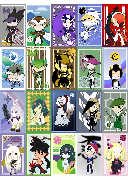 Tags: Anime, Katanagatari, Togame, Maniwa Kawauso, Sabi Hakuhei, Higaki Rinne, Maniwa Mitsubachi, Yasuri Shichika, Maniwa Kamakiri, Maniwa Umigame, Hiteihime, Maniwa Kyouken, Maniwa Houou, Sword Story