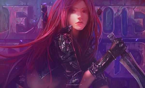 Tags: Anime, Chenbo, League of Legends, Katarina, Wallpaper, Fanart