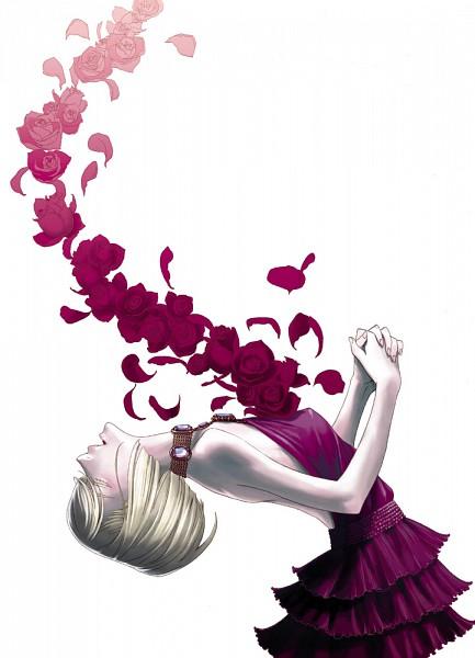 Tags: Anime, Pixiv Id 171156, Gonzo (Studio), Red Garden, Kate Ashley, Mobile Wallpaper