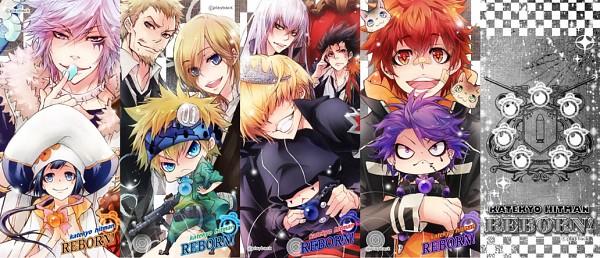 Tags: Anime, Playback, Katekyo Hitman REBORN!, Yuni, Belphegor, Skull (KHR), Basilicum, Byakuran, Sawada Iemitsu, Colonnello, Mammon, Kozato Enma, Superbi Squalo