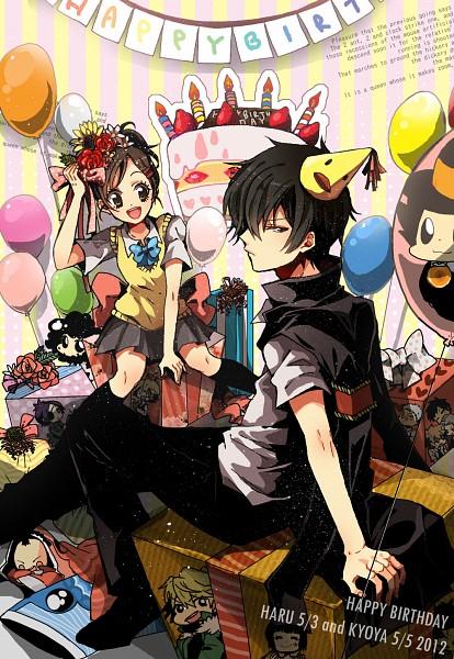 Tags: Anime, Risa / りさ, Katekyo Hitman REBORN!, Sawada Tsunayoshi, Yuni, Reborn, Chrome Dokuro, Gokudera Hayato, Dino Cavallone, Sasagawa Ryohei, Lambo, Yamamoto Takeshi, Hibari Kyoya