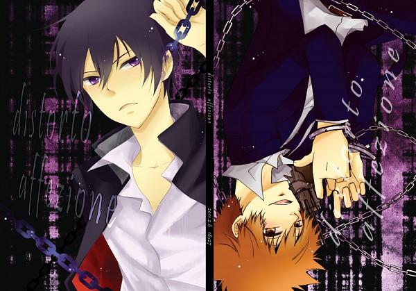 Tags: Anime, Pixiv Id 1509192, Katekyo Hitman REBORN!, Hibari Kyoya, Sawada Tsunayoshi, Fanart, Pixiv, Fanart From Pixiv