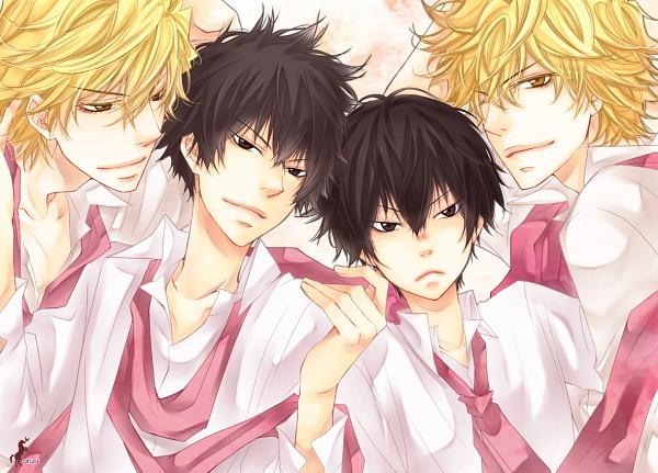 Tags: Anime, Lion Punch, Katekyo Hitman REBORN!, Dino Cavallone, Hibari Kyoya, Pixiv