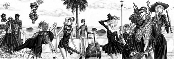 Tags: Anime, Unlovedc, Katekyo Hitman REBORN!, Mammon, Gokudera Hayato, Lussuria, Xanxus, Yamamoto Takeshi, Superbi Squalo, Sawada Tsunayoshi, Fran, Belphegor, Reborn