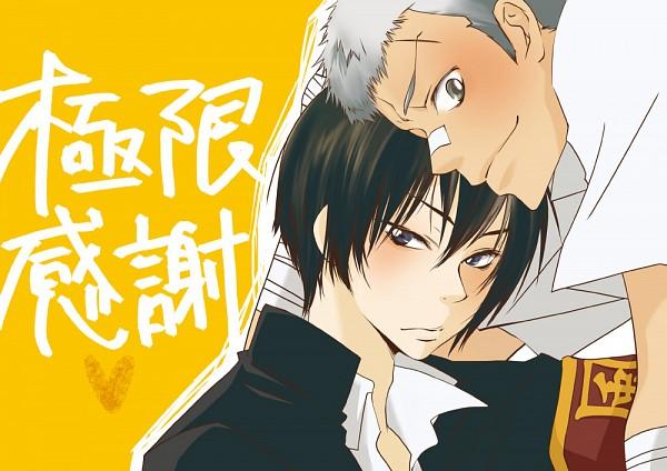 Tags: Anime, Pixiv Id 1236591, Katekyo Hitman REBORN!, Hibari Kyoya, Sasagawa Ryohei, Fanart From Pixiv, Fanart, Pixiv, 3318 (Pairing)