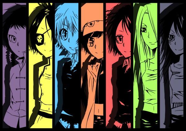 Tags: Anime, Sakuragi Ren, Katekyo Hitman REBORN!, Lal Mirch, I-Pin, Sasagawa Kyoko, Bianchi (Katekyo Hitman REBORN!), Miura Haru, Chrome Dokuro, Yuni