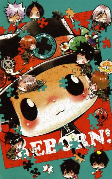 Tags: Anime, Amano Akira, Katekyo Hitman REBORN!, Colore!, Rokudou Mukuro, Bester, Leon (Katekyo Hitman REBORN!), Gokudera Hayato, Byakuran, Hibird, Yamamoto Takeshi, Hibari Kyoya, Uri (Katekyo Hitman REBORN!)