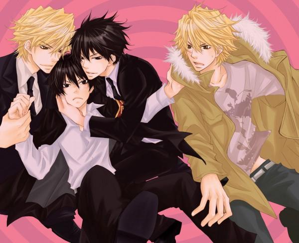 Tags: Anime, Lion Punch, Katekyo Hitman REBORN!, Dino Cavallone, Hibari Kyoya, Fanart, Pixiv