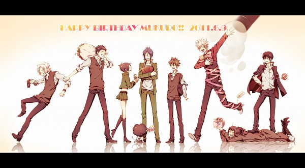 Tags: Anime, Hoshiya Asua, Katekyo Hitman REBORN!, Yamamoto Takeshi, Chrome Dokuro, Lambo, Demon Spade, Byakuran, Rokudou Mukuro, Hibari Kyoya, Gokudera Hayato, Sawada Tsunayoshi, Pixiv