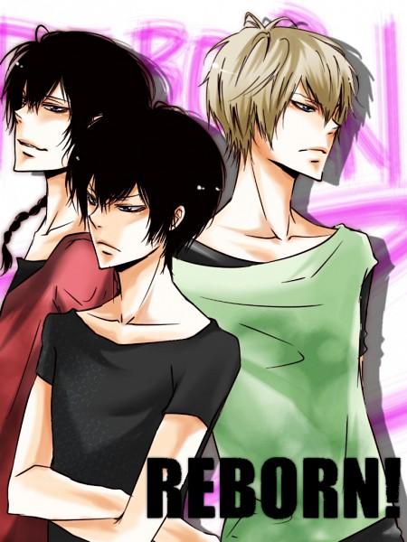 Tags: Anime, Mutuha69, Katekyo Hitman REBORN!, Alaude, Fon, Hibari Kyoya, Pixiv