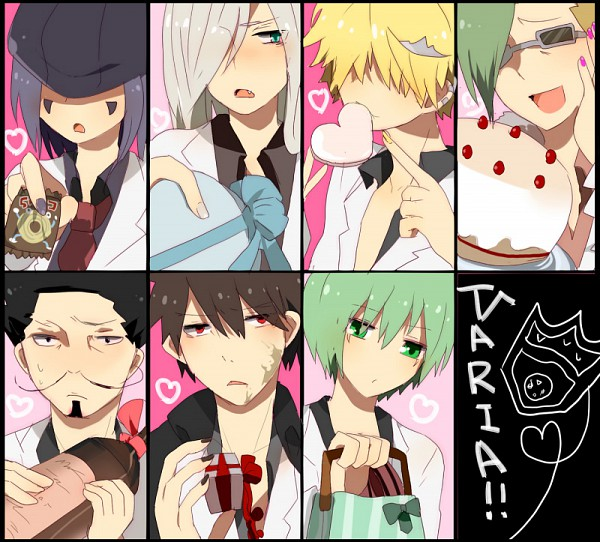 Tags: Anime, Katekyo Hitman REBORN!, Mammon, Leviathan (Katekyo Hitman REBORN!), Xanxus, Lussuria, Superbi Squalo, Belphegor, Fran