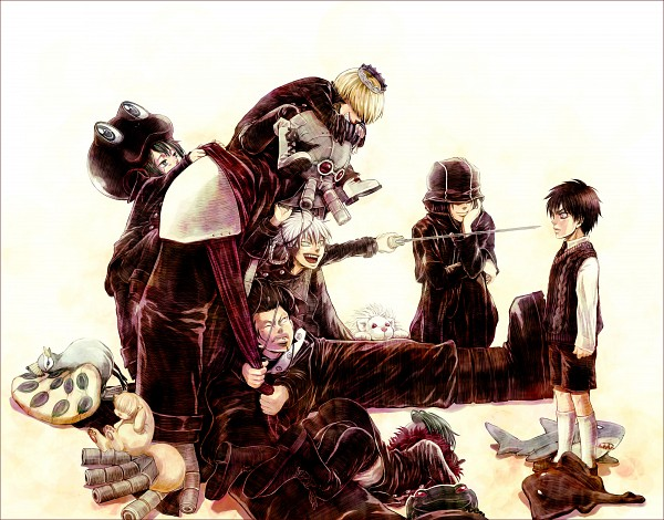 Tags: Anime, Catmaylookatking, Katekyo Hitman REBORN!, Superbi Squalo, Mink, Gola Mosca, Belphegor, Fran, Leviathan (Katekyo Hitman REBORN!), Mammon, Bester, Lussuria, Xanxus