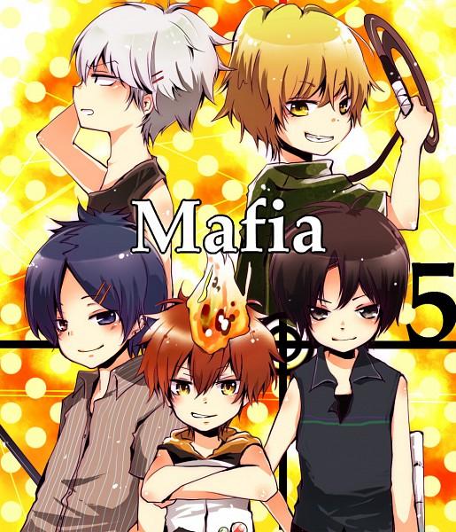 Tags: Anime, Katekyo Hitman REBORN!, Rokudou Mukuro, Superbi Squalo, Dino Cavallone, Hibari Kyoya, Sawada Tsunayoshi