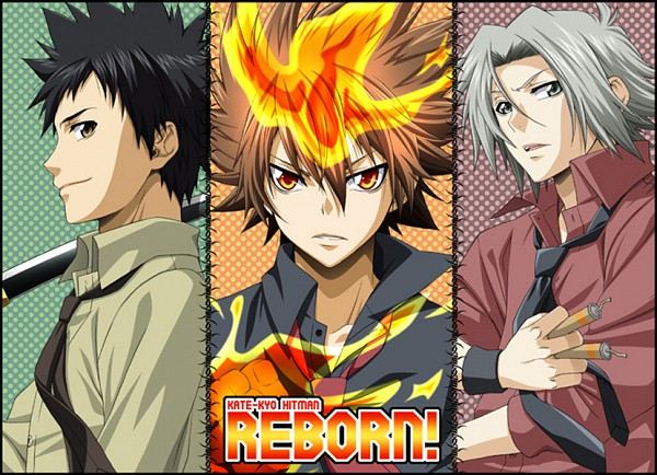 Tags: Anime, Katekyo Hitman REBORN!, Sawada Tsunayoshi, Gokudera Hayato, Yamamoto Takeshi