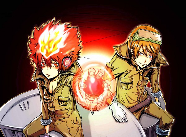 Tags: Anime, Katekyo Hitman REBORN!, Spanner, Sawada Tsunayoshi