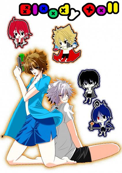 Tags: Anime, Katekyo Hitman REBORN!, Hibari Kyoya, G., Sawada Tsunayoshi, Vongola Primo Giotto, Rokudou Mukuro, Byakuran