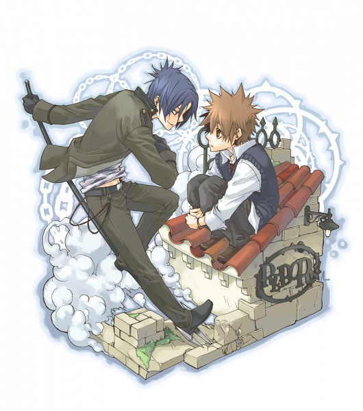 Tags: Anime, Amamoto Kou, Katekyo Hitman REBORN!, Rokudou Mukuro, Sawada Tsunayoshi