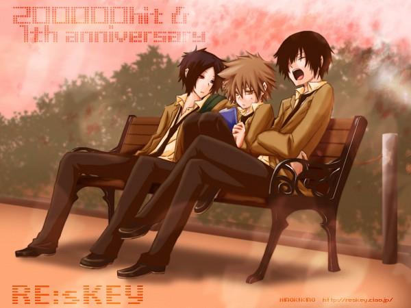 Tags: Anime, Katekyo Hitman REBORN!, Hibari Kyoya, Sawada Tsunayoshi, Rokudou Mukuro