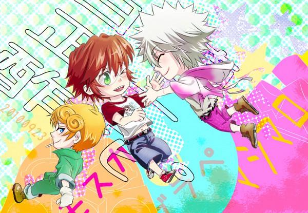 Tags: Anime, Katekyo Hitman REBORN!, Byakuran, Spanner, Irie Shouichi