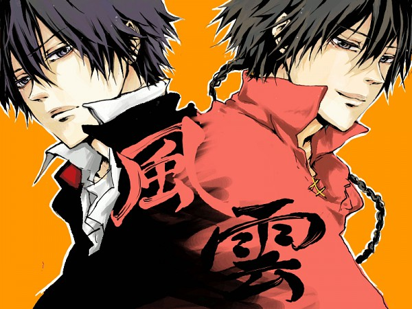 Tags: Anime, Shiina (Pixiv 4265959), Katekyo Hitman REBORN!, Fon, Hibari Kyoya, Changshan, Fanart