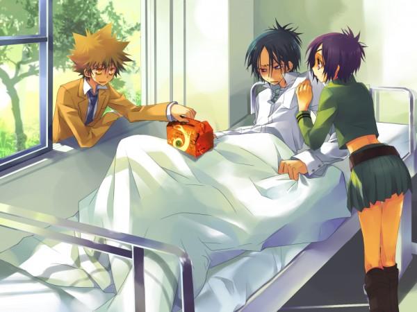 Tags: Anime, Asami Natsume, Katekyo Hitman REBORN!, Rokudou Mukuro, Sawada Tsunayoshi, Chrome Dokuro, Pixiv