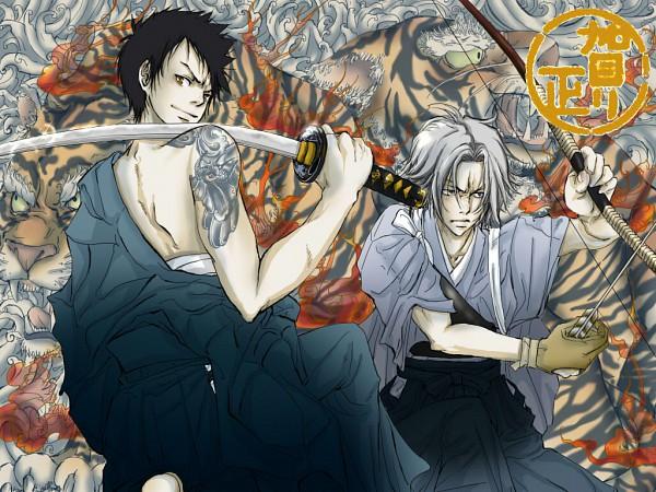 Tags: Anime, Katekyo Hitman REBORN!, Yamamoto Takeshi, Gokudera Hayato