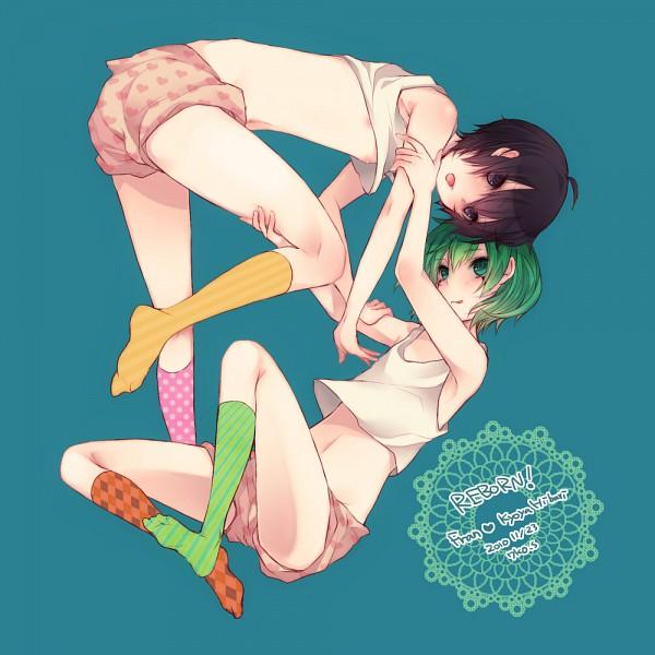 Tags: Anime, Sanada Nako, Katekyo Hitman REBORN!, Hibari Kyoya, Fran, Text: Couple Name, Pixiv