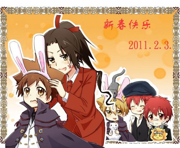 Tags: Anime, Huahua, Katekyo Hitman REBORN!, Sawada Tsunayoshi, Kozato Enma, Vongola Primo Giotto, Vongola Ottavo Daniela, Natsu (KHR), Cozart Shimon