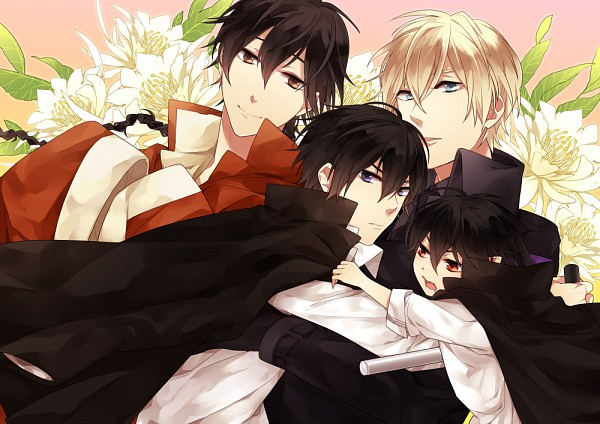 Tags: Anime, Pixiv Id 1688318, Katekyo Hitman REBORN!, Monster Tamer Tsuna, Hibari Kyoya, Alaude, Fon, Hibarin, Tonfa, Pixiv