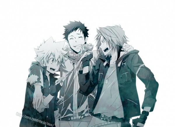 Tags: Anime, Yun (Neo), Katekyo Hitman REBORN!, Gokudera Hayato, Yamamoto Takeshi, Sawada Tsunayoshi