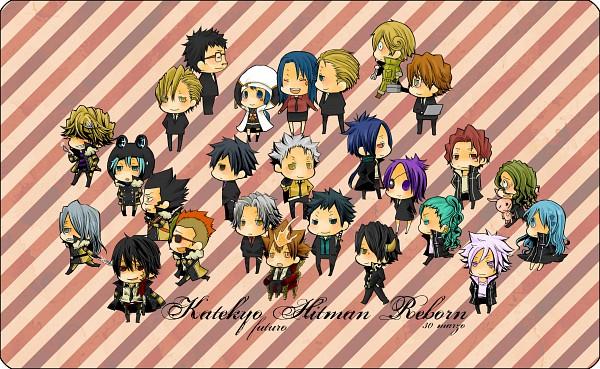 Tags: Anime, Pixiv Id 206435, Katekyo Hitman REBORN!, Fran, Kikyo (KHR), Yuni, Hibari Kyoya, Gamma (Katekyo Hitman REBORN!), Daisy (KHR), Irie Shouichi, Rokudou Mukuro, Xanxus, Leviathan (Katekyo Hitman REBORN!)